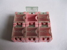 50 pcs DIY SMD SMT Electronic Component Mini box Pink