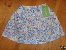 NWT Lilly Pulitzer Girls Under The Sea Aria Skirt 4 $58