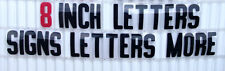 Flexible Changeable Plastic Letters Outdoor Marquee Portable Reader Board Signs