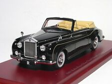 Rolls-Royce Silver Cloud II Drophead, Black 1961, TrueScale TSM124369 1/43  NEW
