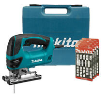 Makita 4350FCT Jig Saw with L.E.D. Light 240v + 20 Makita Jigsaw Blades NEW