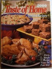 Taste of Home 2000 Annual Recipes Cookbook~Great Home Cooking~MINT-NR