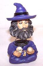 Bobbing Head Wizard nodders bobble wizards medievil fantasy bobbing heads new