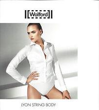 Wolford LYON Blusen-Stringbody • weiß • Gr. 44 • ..... Die alternative zur Bluse