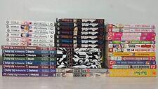 Lot assorted Japanese Korean Manga Manhwa Viz Tokyopop English