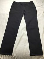 Women's SIMPLY VERA WANG Black Power Stretch Core Skinny Ankle Jeans Size 8 NWT