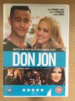 Joseph Gordon Levitt Scarlett Johansson Don Jon ~2013 Sex Addict Commedia UK DVD