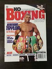 KO Magazine Presents Boxing 2006 - Jermain Taylor - Shane Mosley - Ricky Hatton