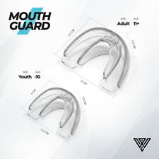 Mouth Guard Teeth Grinding Boxing Sports Gym MouthPiece Shield Case Gel BPA Free