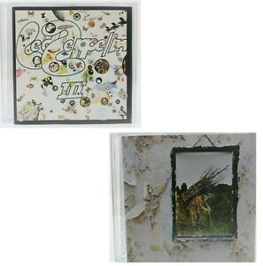 CD LOT / Led Zeppelin III + Led Zeppelin IV / Rare German Import Presses / MINT