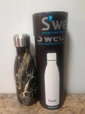 Swell Vacuum Insulated Stainless Steel Water Bottle 9 oz bahamas gold marble