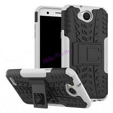For LG X Power 2 / LV7 - Soft TPU & Hard Hybrid Shockproof with Stand Case Cover
