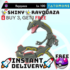 ✨ Shiny Rayquaza✨ Legendary Pokemon Sword and Shield 6 IV 🚀Fast Delivery🚀
