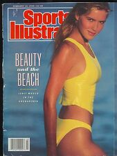 Vintage 1990 SWIMSUIT Edition Sports Illustrated Beauty & The Beach Judit Masco
