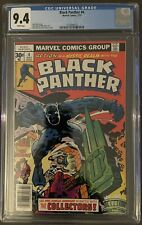 Black Panther #4 CGC 9.4 1977 Marvel  Jack Kirby Story, Art & Cover: White Pages