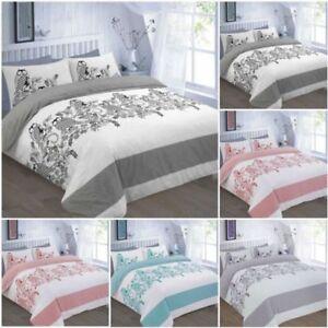 Owls Print Quilt Duvet Cover Set With Pillow Case single double Super King Size