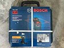 Bosch 65 Red Beam Self Leveling Cross Line 360 Laser Level Gll 2 20 New