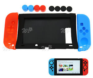 Silicon Gamepad Protective Cover Case For Nintendo Switch Joy-Cons Console Set