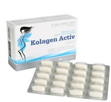 Olimp KOLAGEN Activ Plus Flexible Skin Healthy Hair Nails Collagen VIT C B6 Tabs 120caps