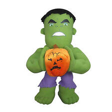 "Marvel Disney Halloween Incredible Hulk Porch Greeters Decoration 23"" Figure Toy"