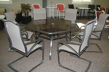 Scottsdale 7 piece 7 pc Dining Set Patio Furniture