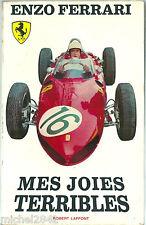 Enzo Ferrari Mes joies terribles EO 1964 sport automobile Formule 1 Le Mans