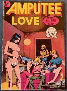 Amputee Love  Underground Comix  1st Printing  1975