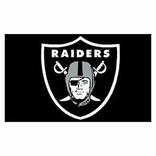 Football Raiders  3 X 5 Flag Us Seller Why Wait