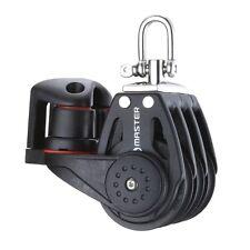 【Master】40mm Triple/Swivel/Cam Kit Ball Bearing Block Ø10 -Mainsheet Pulleys
