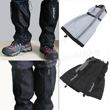 Summit Waterproof Gaiters Camping Hiking Gaitors Walking Boot Gaiters (One Pair)