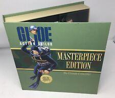 GI Joe Masterpiece Edition Action Sailor Figurine & Book Mint