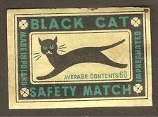 ORIGINAL UNUSED VINTAGE CAN LABEL 1950/'s KALICO KAT CAT FOOD BUFFALO NEW YORK
