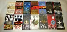 STEVE BERRY lot of 14 PBs COTTON MALONE Series 1-14