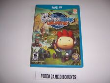 Original Box Case for Nintendo Wiiu Wii U Scribblenauts Unlimited