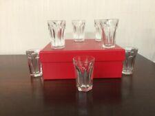 Verre à liqueur / vodka Service Harcourt en cristal de Baccarat (5 disponible)