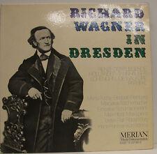 "RICHARD WAGNER EN DRESDEN RIENZI PARSIFAL FUCHS RETHBERG HIRZEL 12""LP (d937)"