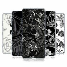 OFFICIAL HAROULITA BLACK AND WHITE 5 SOFT GEL CASE FOR SONY PHONES 1