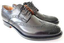 SANTONI Schuhe Herrenschuhe Businessschuhe - GR. 7 (41) - NEU/ORIGINAL