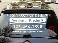 "CUSTOM VINYL LETTERING Personalized Business Name Logo Sticker Decal 20""-8"""