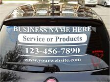 """CUSTOM VINYL LETTERING Personalized Business Name Logo Sticker Decal 22""""-9.5"""""""