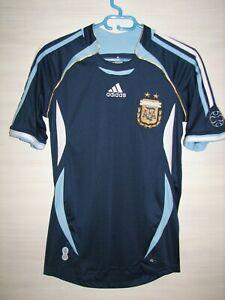 ARGENTINA 2006-07 AWAY SHIRT ADIDAS JERSEY SIZE XS