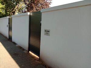 Modular wall panel Fence