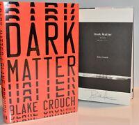 !!SIGNED 1st Print!!  Dark Matter by Blake Crouch  (Hardcover) hx NEW