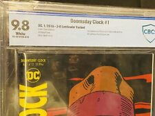 Doomsday Clock #1 CBCS 9.8 Lenticular Variant Dave Gibbons Cover DC Comics 1/18
