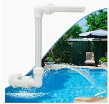Pool Waterfall Spray Pond Fountain -Water Fun Sprinklers Above In Ground Fitting