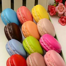 Fashion Kawaii Soft Dessert Macaron Squishy Cute Cell phone Charms Key Straps