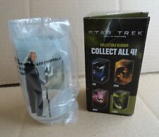 "New listing Nib 2008 Star Trek ""Nero"" Collectible Glass J.J. Abrams Star Trek Movie"