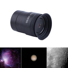 "Black 1.25"" 4mm Fully Coated Plossl Eyepiece Lens GW For Astronomical Telescope"