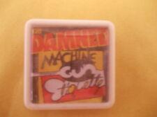 THE DAMNED MACHINE GUN ETIQUETTE ALBUM COVER BADGE PIN