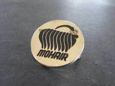 Mohair Goat Wool Badge